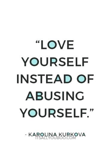 self-love-quotes-Karolina-Kurkova-love-yourself-instead